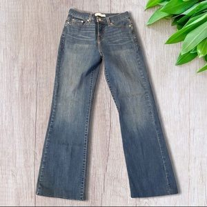 Levi's Boot Cut 512 Jeans Perfectly Slimming